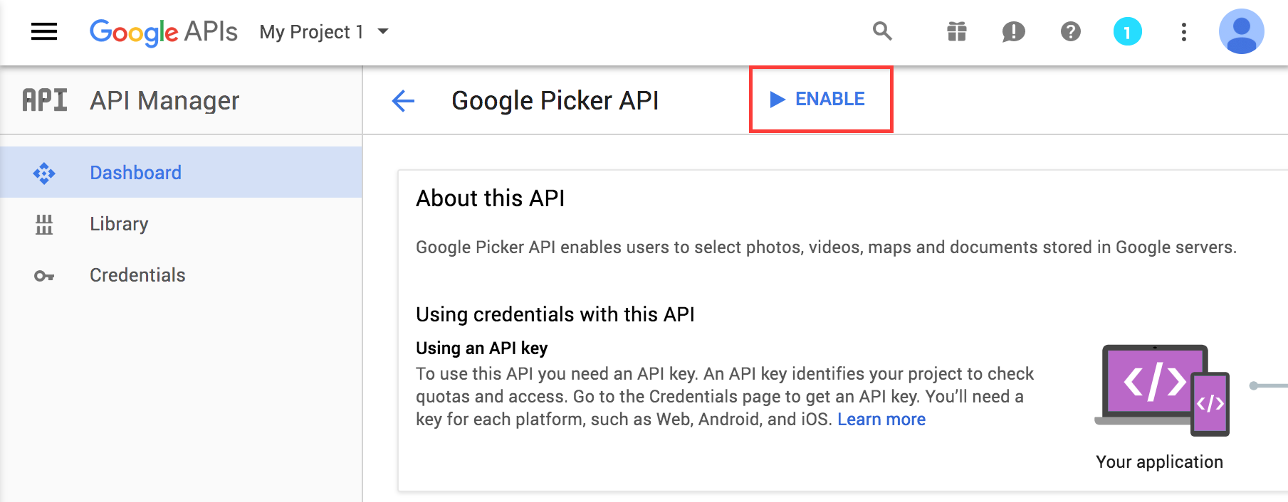 google picker