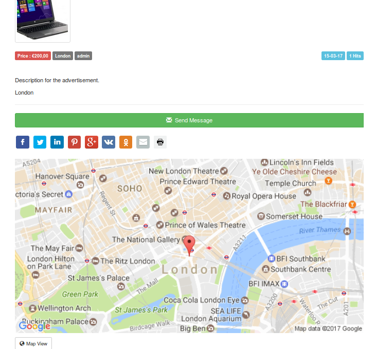 3 Ways to Use Google Maps With Clifieds | Documentation ... Google Map Ad on bg google maps, sc google maps, petra google maps, de google maps, kansas google maps, uk google maps, andorra google maps, ga google maps, la google maps,