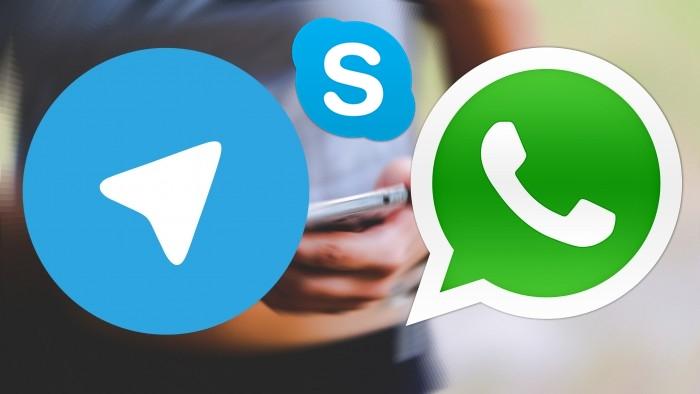 whatsapp-skype-telegram